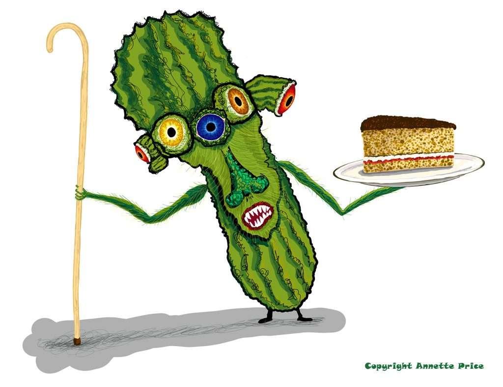 Meet Prickly Pear. A Cake Companion.