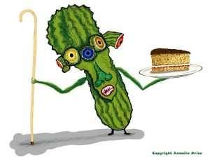 Meet Prickly Pear. A Cake Companion