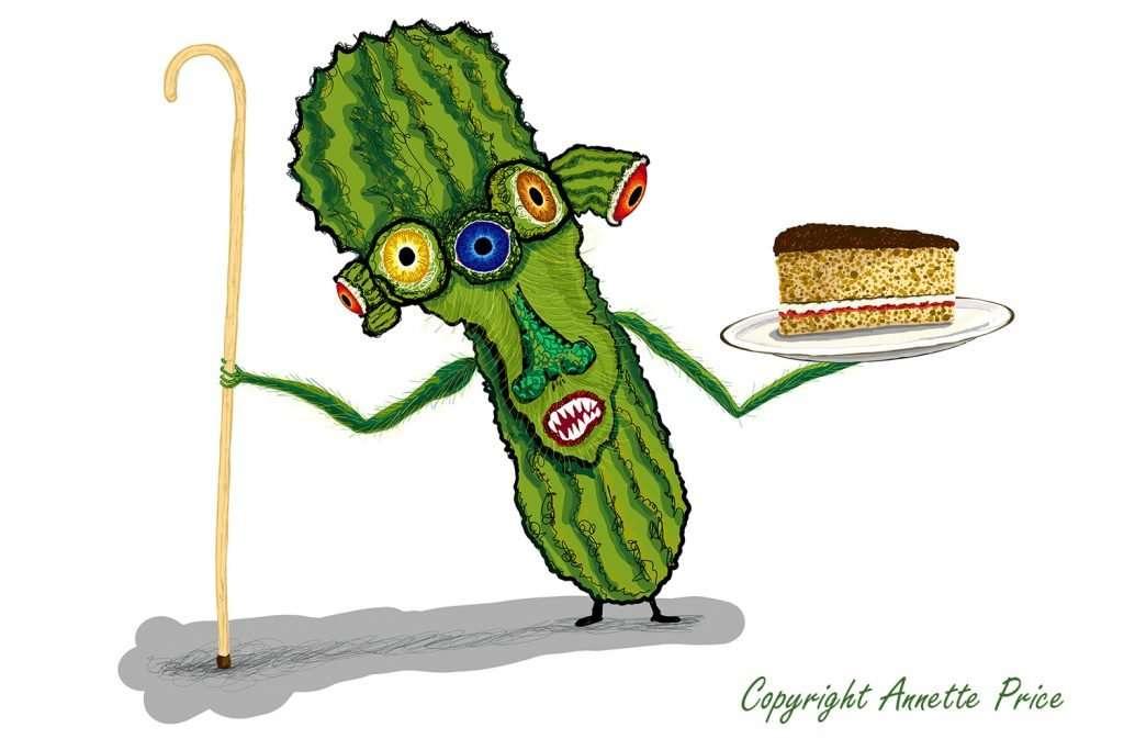 Cake Companion Prickly Pear