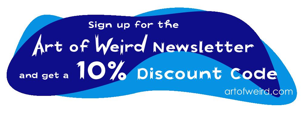 Art of Weird discount code