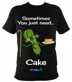 Prickly Pear Cake Companion - T-shirt